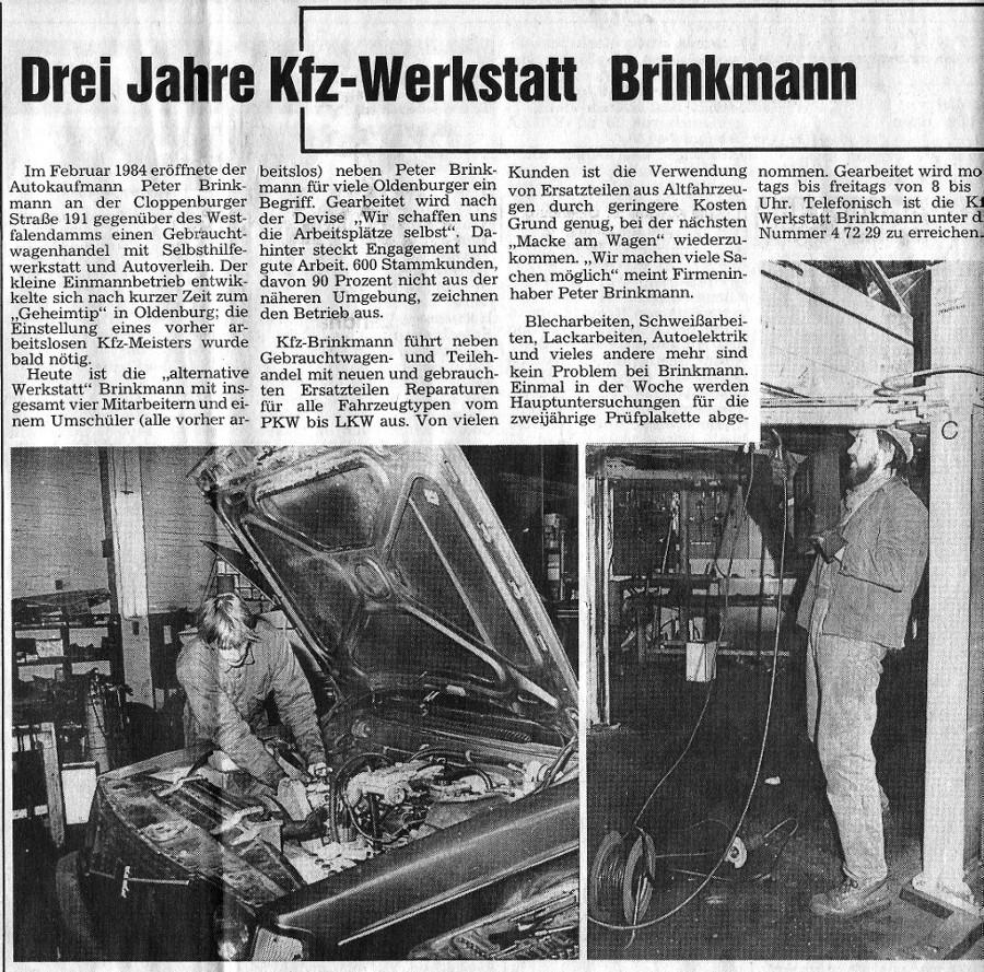 galerie peter brinkmann kfz betrieb gmbh. Black Bedroom Furniture Sets. Home Design Ideas